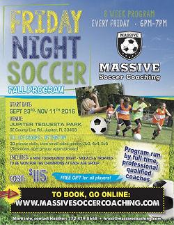 Friday Night Soccer - Jupiter, FL