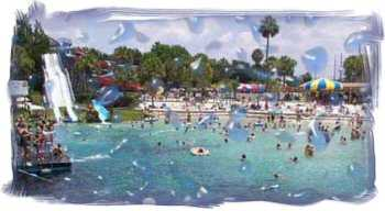 Buccaneer Bay Water park inside Weeki Wachee Springs