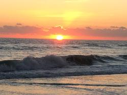 sunrise at Hobe Sound