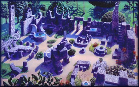 Coral Castle Painting