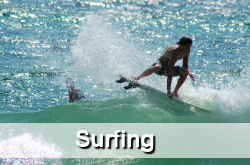 Surfing, Kite Surfing, Windsurfing in Jupiter FL
